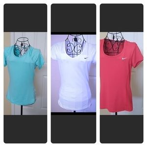 Bundle Nike Dry Fit Running Workout SS Tee Tops S